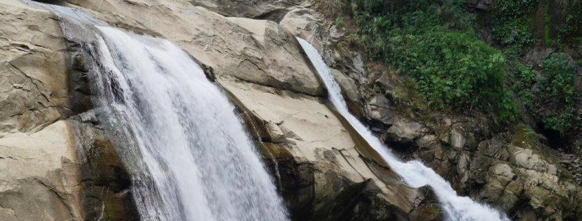 Tangadan Wasserfälle bei San Gabriel