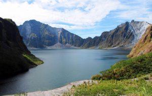 Kratersee des Pinatubo Vulkans